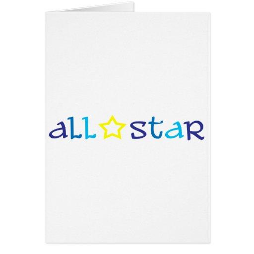 All Star Cartes De Vœux