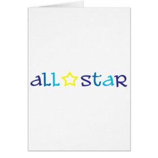 All Star Carte De Vœux