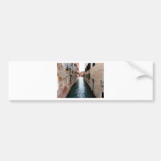 Allée de l'eau de Venise Autocollant De Voiture