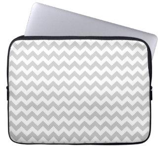 Allégé Assemblée Chevron Stripes LapTop Sleeve Trousses Pour Ordinateur Portable