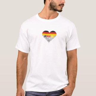 Allemand du T-shirt A I Ilove