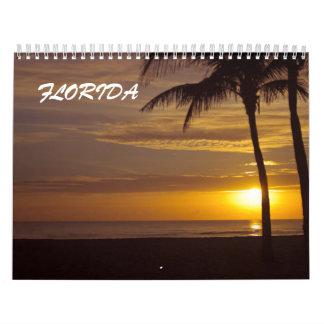 Allen over de stranden van Florida Kalender