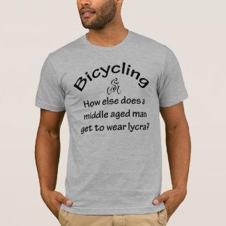 Aller à vélo t-shirt