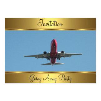 Aller loin partie carton d'invitation  12,7 cm x 17,78 cm