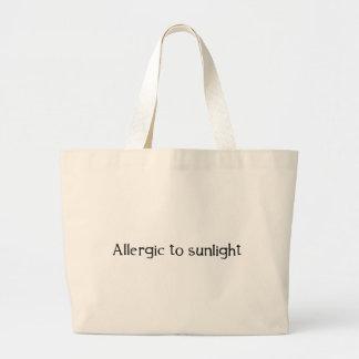Allergique à la lumière du soleil grand sac