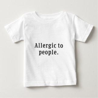 """""""Allergique T-shirt de bébé à personnes"""""""