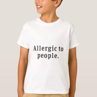 """""""Allergique T-shirt de la jeunesse à personnes"""""""