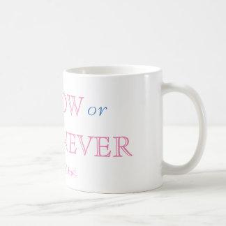 Allez maintenant ou arrangez pour Jamais-Se Mug