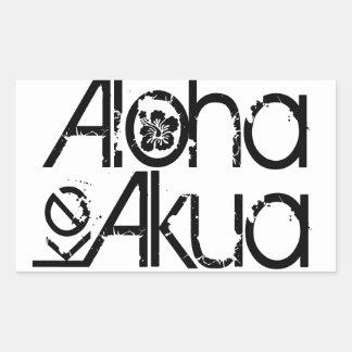 Aloha autocollants du KE Akua