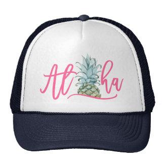 Aloha casquette de camionneur d'ananas