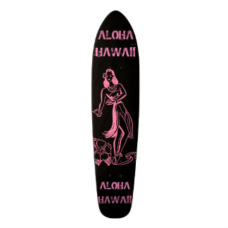 Aloha fille mini skateboard 18,4 cm