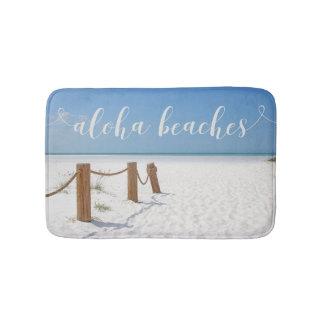 Aloha plages tapis de bain
