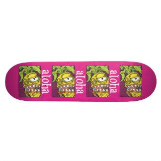 Aloha planche à roulettes d'ananas planche à roulette customisée