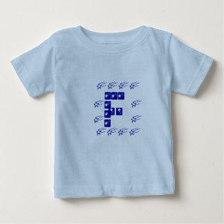 ALPHA d'identité - équipe F d'étoile T-shirt Pour Bébé
