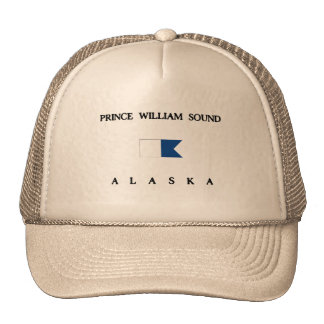 Alpha drapeau de piqué de prince William Sound Casquette Trucker