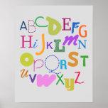 alphabet (audacieux) affiches