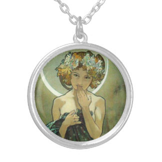 Alphonse Mucha Clair De Lune Necklace Colliers