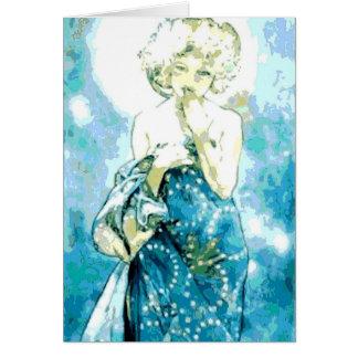 Alphonse Mucha la carte de note de lune