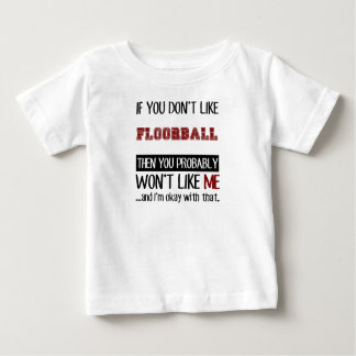 Als u van geen Floorball Koel houdt Baby T Shirts
