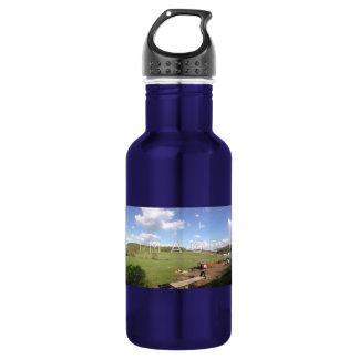 Aluminium panoramique personnalisé de photo bouteille d'eau