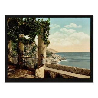 Amalfi, du Capuccini, classique de Naples, Italie Carte Postale