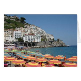 Amalfi, Italie Carte