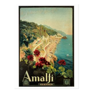 Amalfi Italie Carte Postale