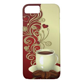 Amant moderne de café coque iPhone 7