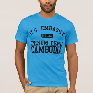 Ambassade Phnom Penh, Cambodge T-shirt