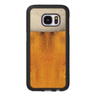 Ambre de Stein de festival d'octobre de pinte de Coque En Bois Galaxy S7