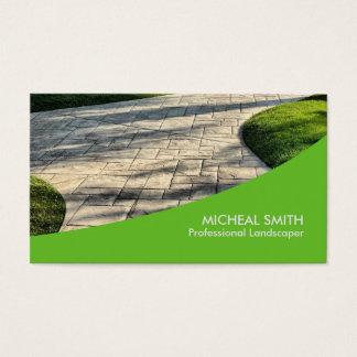 Cartes de visite jardinier personnalis es for Jardinier professionnel