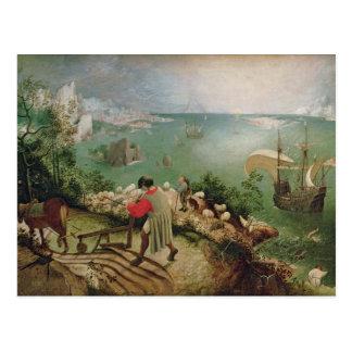 Aménagez en parc avec l'automne d'Icare, c.1555 Cartes Postales