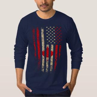 Américain canadien t-shirt