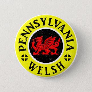 Américain de la Pennsylvanie Gallois Badge Rond 5 Cm