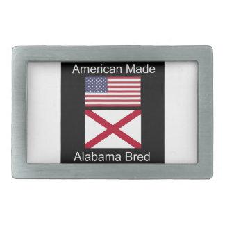 """""""Américain soutenu. L'Alabama a multiplié des"""" Boucle De Ceinture Rectangulaire"""
