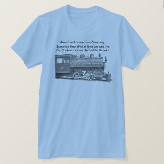 American Locomotive Company 0-4-0 T T-shirt