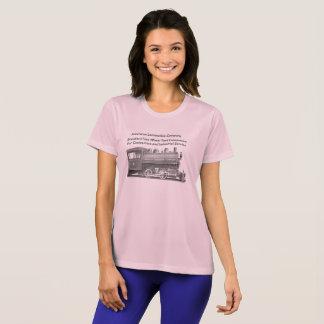 American Locomotive Company femmes de 0-4-0 T T-shirt