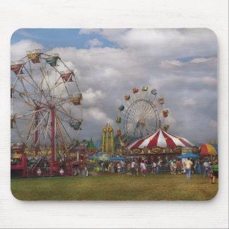 Americana - carnaval de déplacement tapis de souris