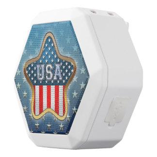 Amerikaanse Ster Witte Bluetooth Speaker