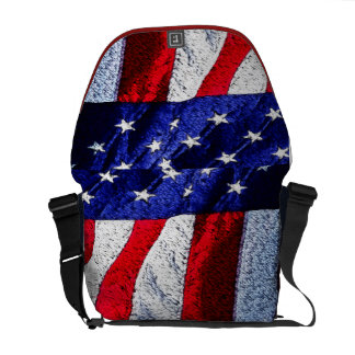 Amerikaanse Vlag Courier Bags