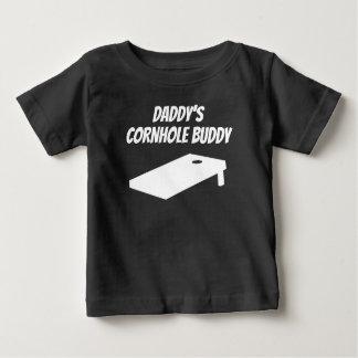 Ami de Cornhole du papa T-shirt Pour Bébé