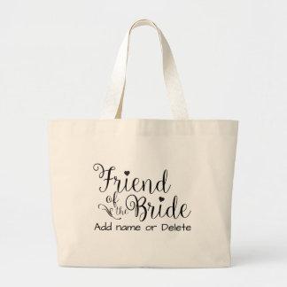 Ami sac fourre-tout à toile de cadeau de mariage