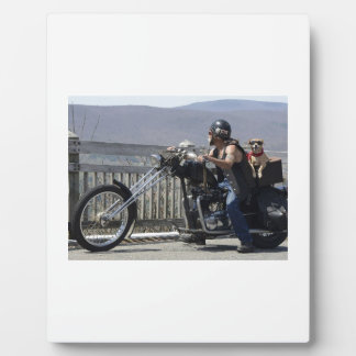 Amis de moto plaque photo