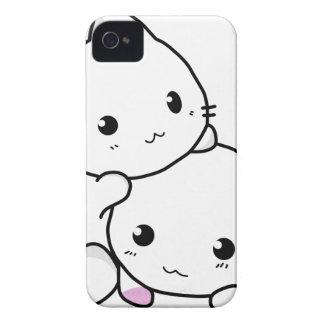 Amis mignons de chat coque iPhone 4 Case-Mate