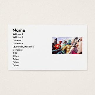 Amis superbes, nom, adresse 1, adresse 2, cont… cartes de visite