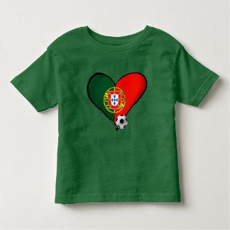 Amor, Portugal e Futebol - quer de vôce de mais de T-shirt Pour Les Tous Petits