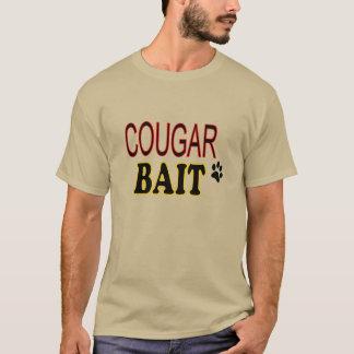 Amorce drôle de puma de T-shirt