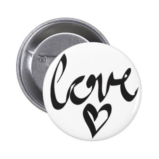 Amour Badge Rond 5 Cm