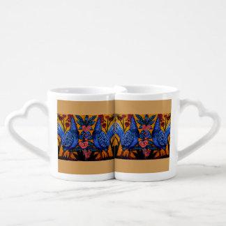Amour bleu de poulet mug