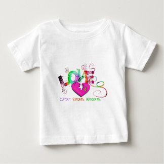 Amour d'autisme t-shirt pour bébé